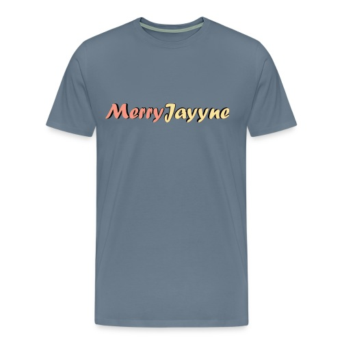 Merry Man-Grey - Men's Premium T-Shirt