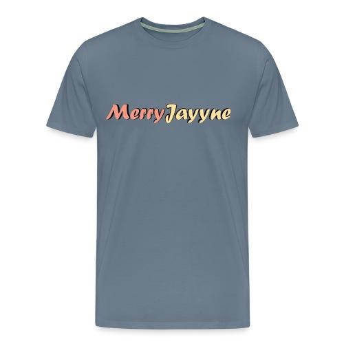Merry Man-Grey - Men's Premium T-Shirt
