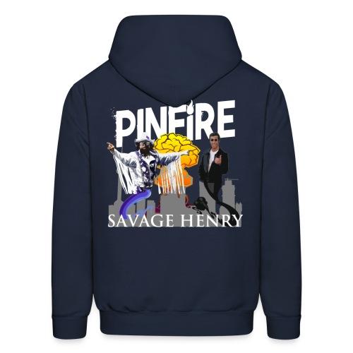 Savage Henry Print Hoodie - Men's Hoodie