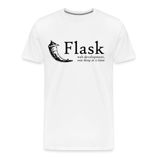 Flask Web Framework - Men's Premium T-Shirt