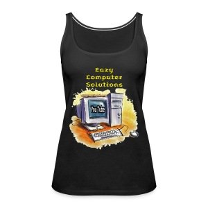 Eazy Computer Solutions Women's Premium Tank Top - Women's Premium Tank Top