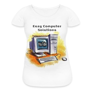 Eazy Computer Solutions Women's Maternity T-Shirt - Women's Maternity T-Shirt