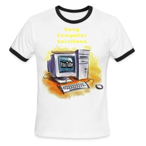 Eazy Computer Solutions Men's Ringer T-Shirt - Men's Ringer T-Shirt