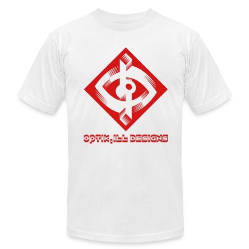 Optik-ILL Red Eye - Men's  Jersey T-Shirt