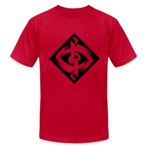 Optik-ILL Eye Logo - Men's Fine Jersey T-Shirt