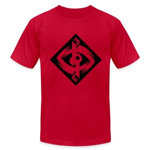 Optik-ILL Eye Logo - Men's  Jersey T-Shirt