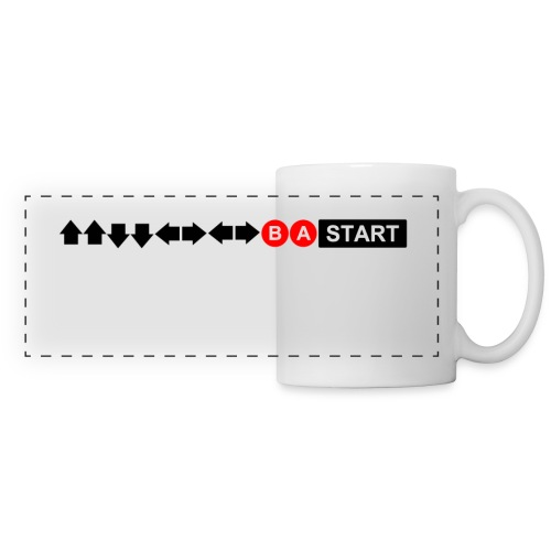Contra Code Horizontal Design Mug - Panoramic Mug