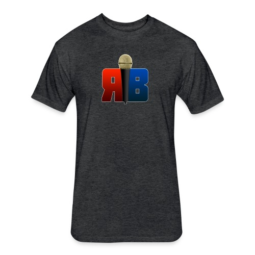 RubikBeatbox Logo Poly T-Shirt - Fitted Cotton/Poly T-Shirt by Next Level