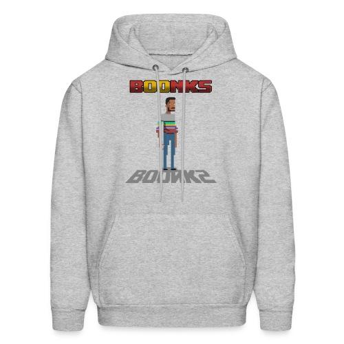 Men's Pixel BOONKS Hoodie ! - Men's Hoodie
