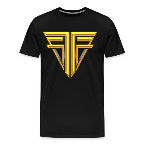 Gold Logo Shirt - Men's Premium T-Shirt