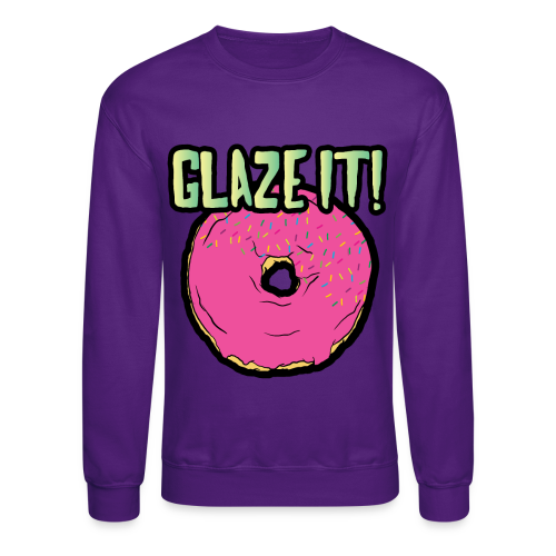 Glaze It Sweater - Crewneck Sweatshirt
