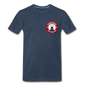 Official NTOTG logo (Navy) - Men's Premium T-Shirt