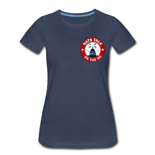 Official NTOTG logo (Navy - women) - Women's Premium T-Shirt