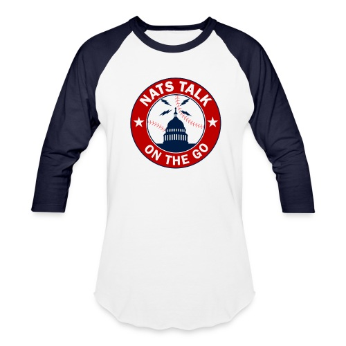 Official NTOTG logo baseball (white/navy) - Baseball T-Shirt