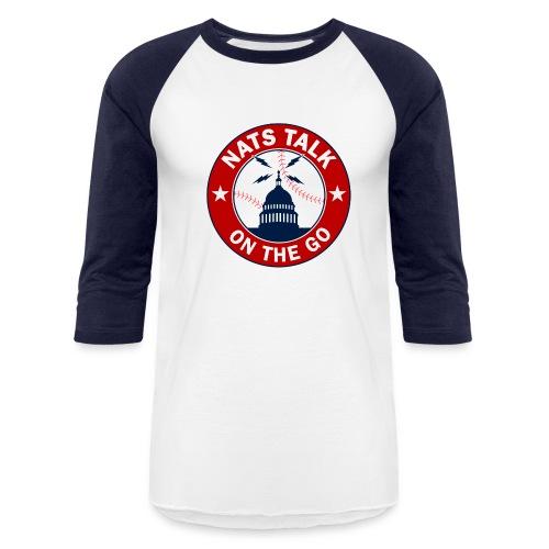 Official NTOTG logo baseball (white/navy) - Baseball T-Shirt