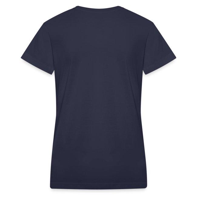 Official NTOTG logo v-neck (Navy - women)