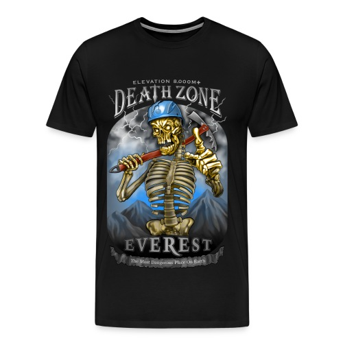 DEATH ZONE: EVEREST - Men's Premium T-Shirt