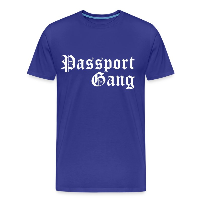 Passport Gang - Men's Premium T-Shirt
