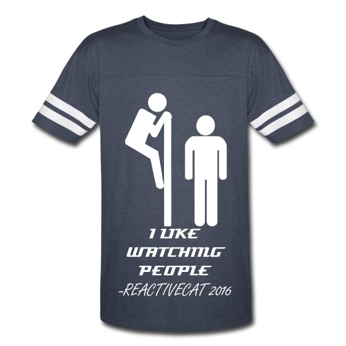 I Like Watching People - Vintage Sport T-Shirt