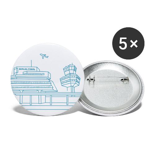 Airport Tegel in Berlin - Buttons small 1'' (5-pack)