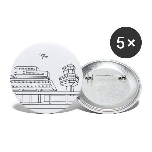 Airport Tegel in Berlin - Buttons large 2.2'' (5-pack)