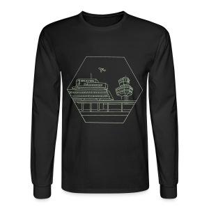 Airport Tegel in Berlin - Men's Long Sleeve T-Shirt