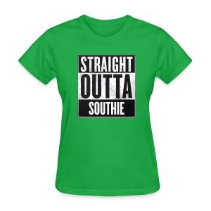 Straight Outta Southie (Women) - Women's T-Shirt