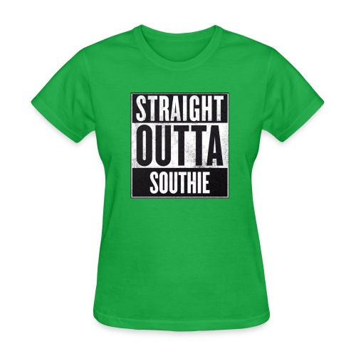 Straight Outta Southie (Women) - Women's T-Shirt