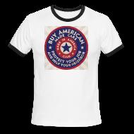 T-Shirts ~ Men's Ringer T-Shirt ~ Buy American Cars
