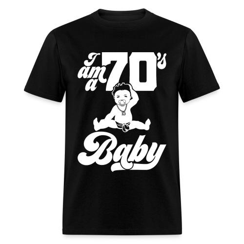 70s Baby - Men's T-Shirt