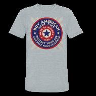 T-Shirts ~ Unisex Tri-Blend T-Shirt ~ Buy American Cars