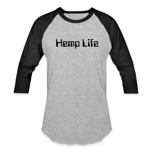 Hemp Life Men's Baseball Tee - Baseball T-Shirt