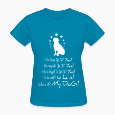 I love my Dog & My dog loves me Women's T-Shirts
