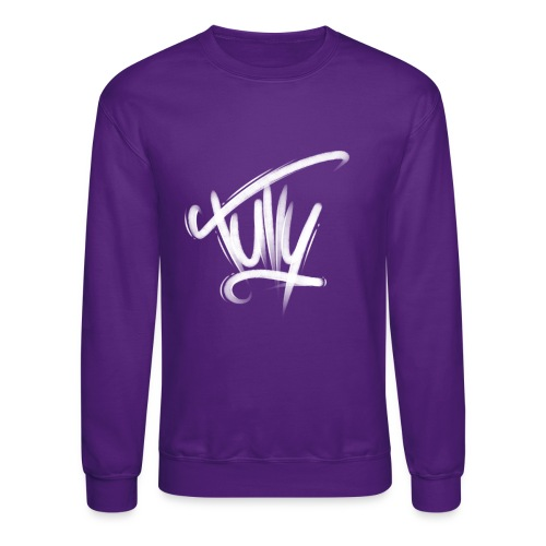 Tully Purple Crewneck - Crewneck Sweatshirt