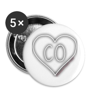 CO_F 2 1/4 Buttons (5 Pack) - Large Buttons