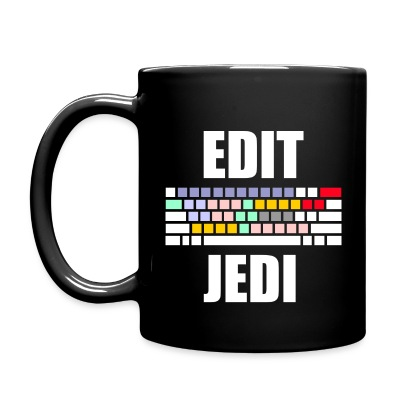 Edit Jedi Coffee Mug - Full Color Mug
