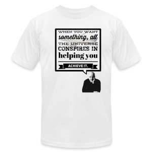 Universal Assistance - Men's T-Shirt by American Apparel