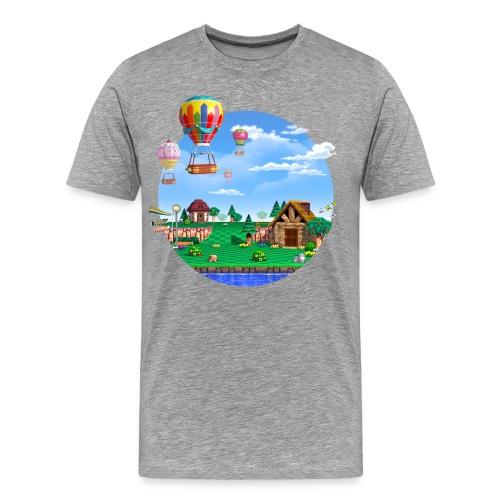 Peaceful Village T-Shirt - Men's Premium T-Shirt