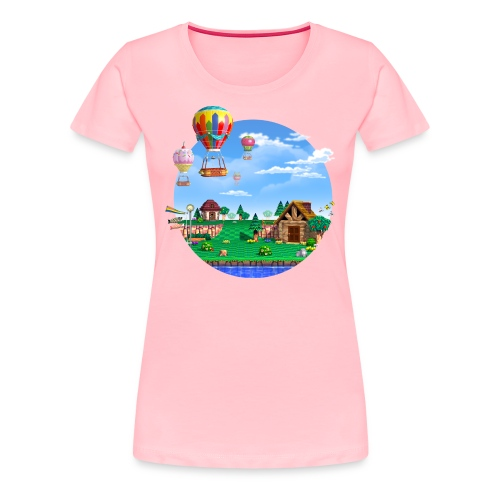 Peaceful Village T-Shirt (Womans) - Women's Premium T-Shirt