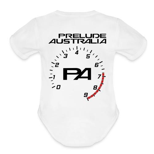 PA Plain Onsie - Organic Short Sleeve Baby Bodysuit