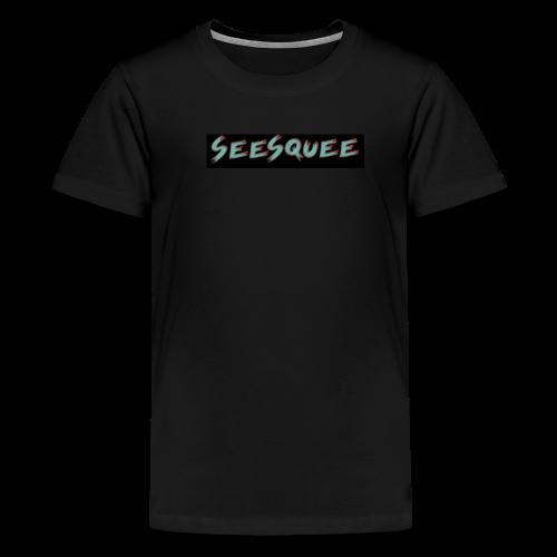Seesquee Talks Kid's T-Shirt - Kids' Premium T-Shirt