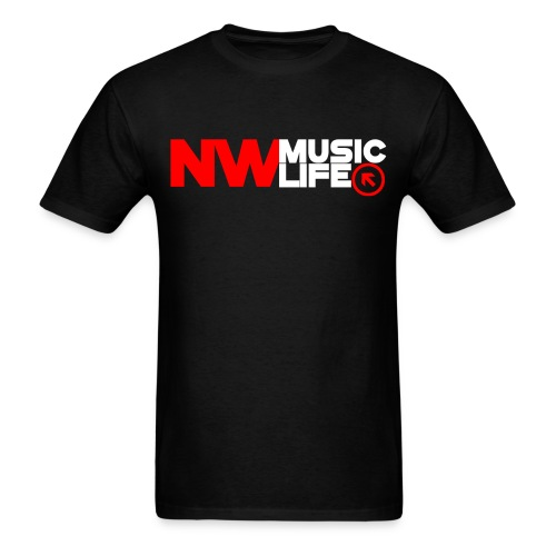 NW Music Logo T-Shirt - Men's T-Shirt