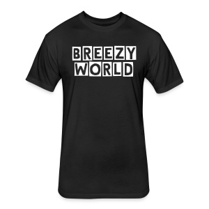 BREEZY WORLD BASIC - Fitted Cotton/Poly T-Shirt by Next Level