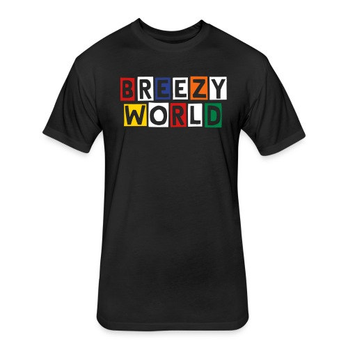 BREEZY WORLD COLOR - Fitted Cotton/Poly T-Shirt by Next Level