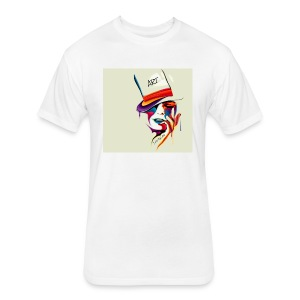 JAY BEAN ART BASIC - Fitted Cotton/Poly T-Shirt by Next Level