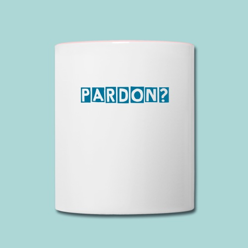 PARDON? MUG - Contrast Coffee Mug