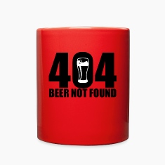 404 Beer Not Found Mug