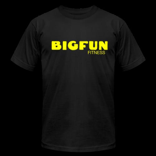 BFF LOGO - Men's T-shirt - Men's Fine Jersey T-Shirt