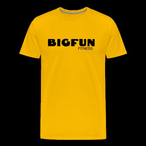 BFF LOGO - Men's T-shirt - Men's Premium T-Shirt