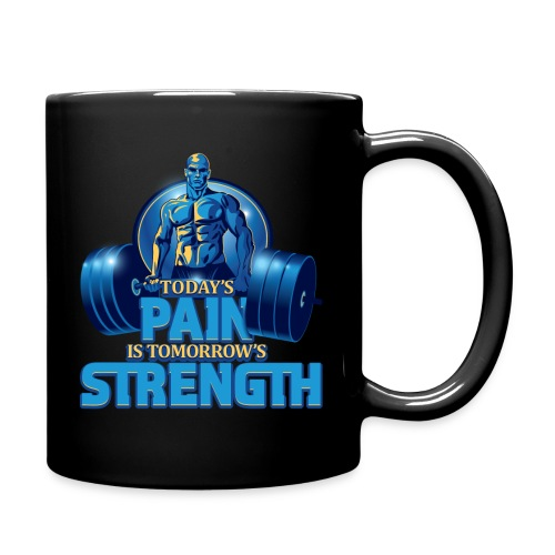 Heavy Lifting Man - Full Color Mug